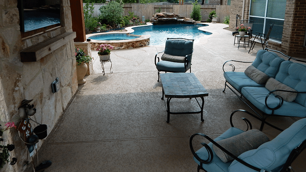 Custom Outdoor Patio Construction DFW 24