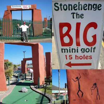 Stonehenge Big Mini Golf in Hemsby, Norfolk
