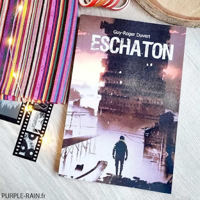 PurpleRain Livre : Eschaton • Guy-Roger Duvert