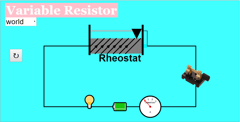 Variable Resistor Diagram