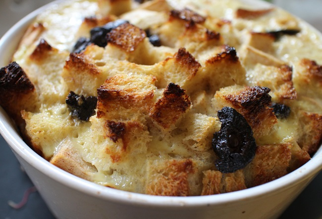 resepi puding roti epal resepi mudah Resepi Puding Roti Air Fryer Enak dan Mudah