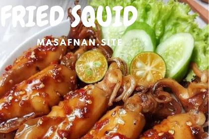Fried squid.