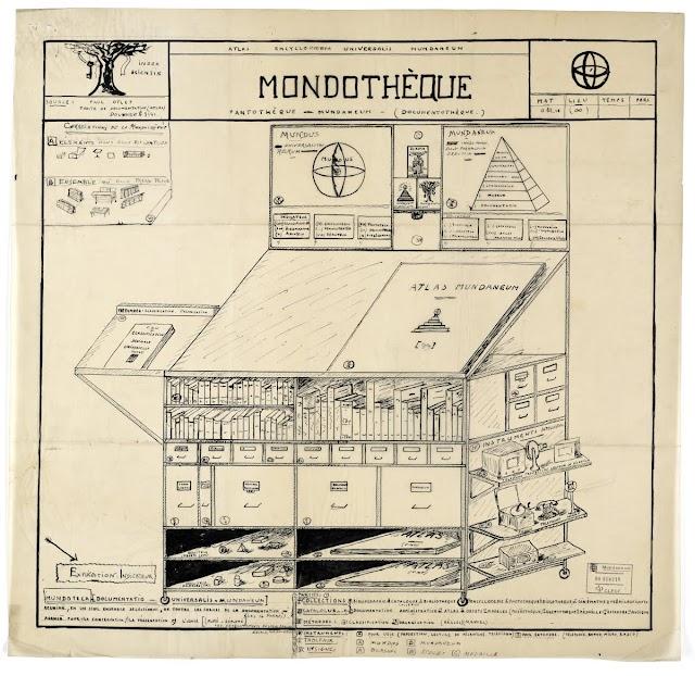Mondothèque - Mundaneum | 1934
