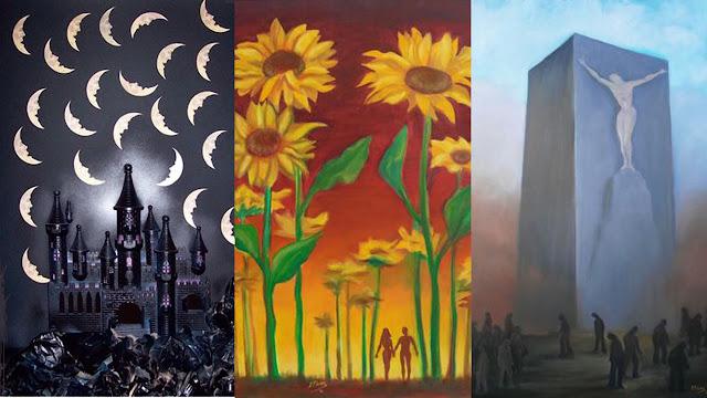 """Ο ζωγράφος Ρήγας Ρηγόπουλος εκθέτει τα έργα του στην γκαλερί """"Vasiliki"""" στο Ναύπλιο"""