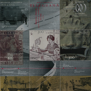 300 AÑOS DE CORREO EN ESPAÑA - SEGUNDA CENTURIA