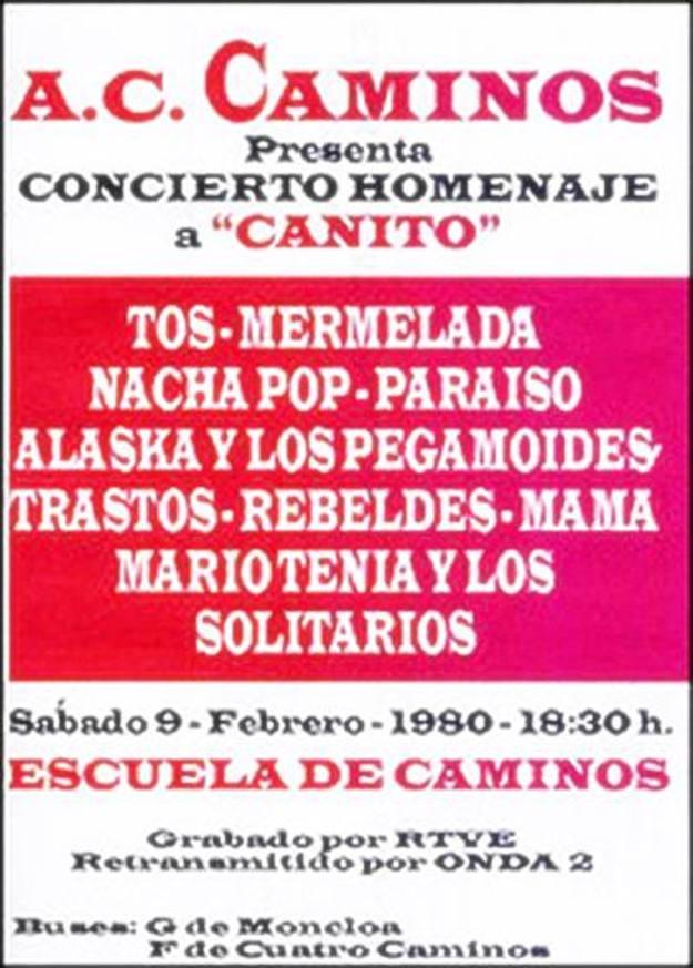 concierto homenaje a canito