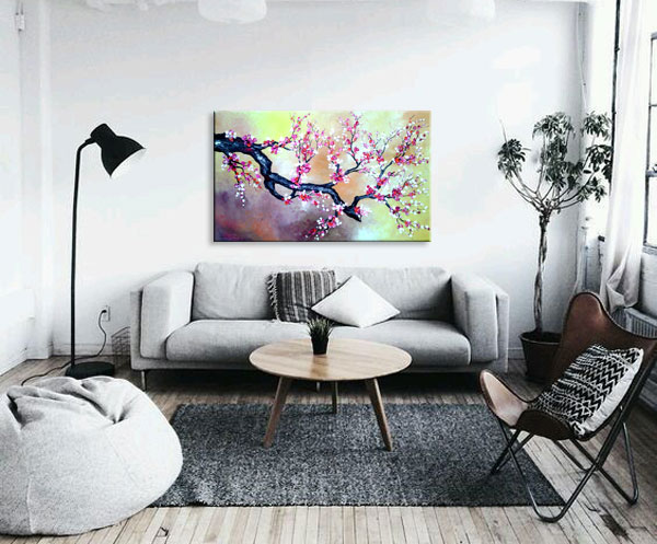 Jual Lukisan Minimalist Modern, Milieart Yogyakarta