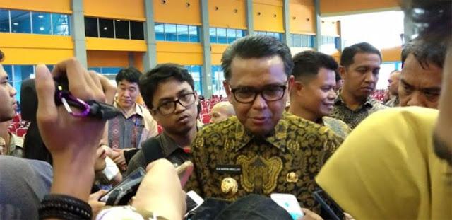 Gubernur Nurdin Bakal Sanksi Pejabat yang Absen Saat Tes Urine