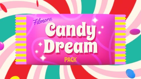 Filmstocks Candy Dream Pack   Filmora 9 Effects