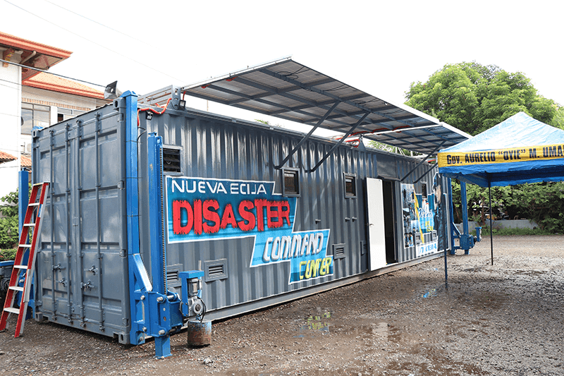 The Command Center is also equipped against national disaster as well