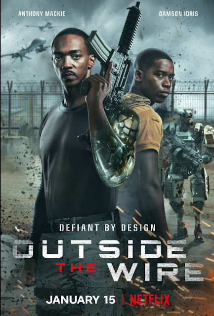 مشاهده فيلم Outside the Wire 2021 | اون لاين مترجم | حريتي | السينما للجميع