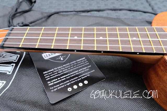 Kala LTP-S Soprano Ukulele neck