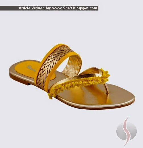 Ideas by Gul Ahmed Fancy Shoes for Girls