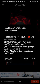 UT Loop PRO 9mobile 150mb custom tweak
