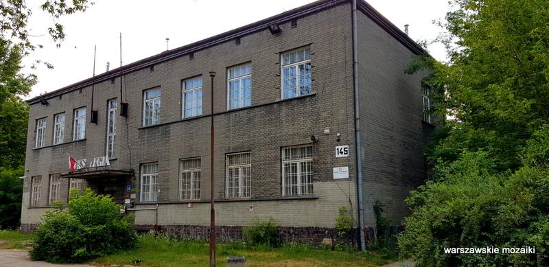 szara cegła Warszawa Warsaw osiedle oficerów Wojska Polskiego Fort Bema architektura wojskowe  Legia
