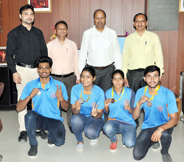 YMCA University wins medals in All India Open Competition