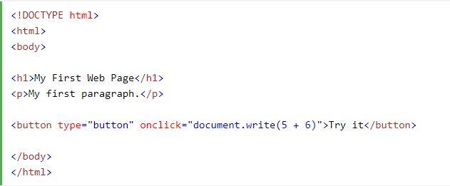 Thuộc tính Đầu ra JavaScript