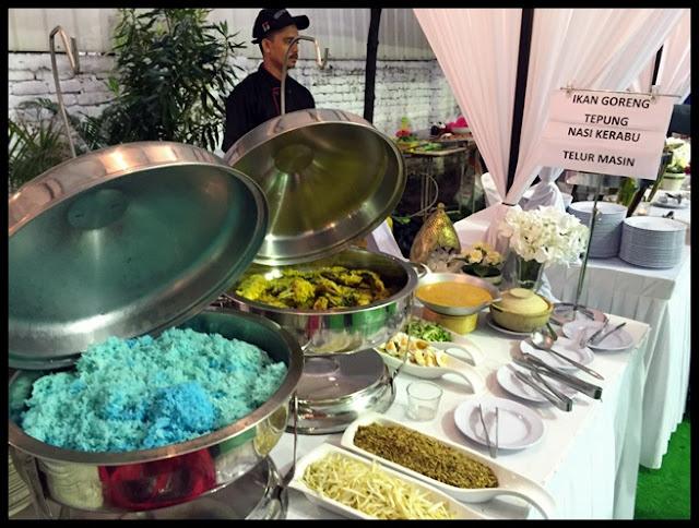 9Kedondong  nasi kerabu