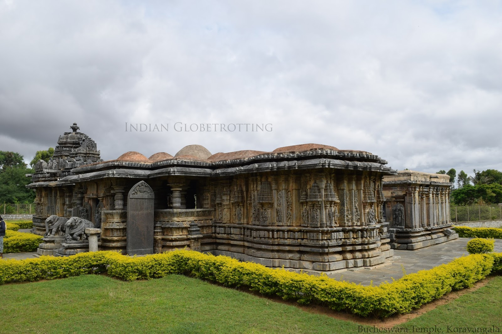 Bucheswara temple in koravangala in karnataka constructed by the hoysala dynasty