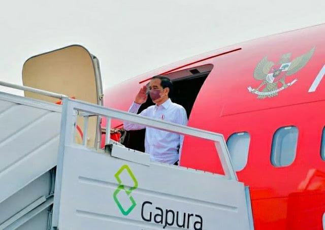 Joko Widodo ke Jayapura Untuk Buka Resmi Pekan Olahraga Nasional (PON) XX 2020.lelemuku.com.jpg