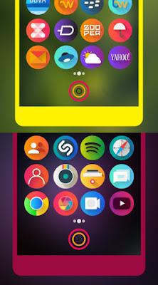 Icon Pack Bulat Colorful Keren