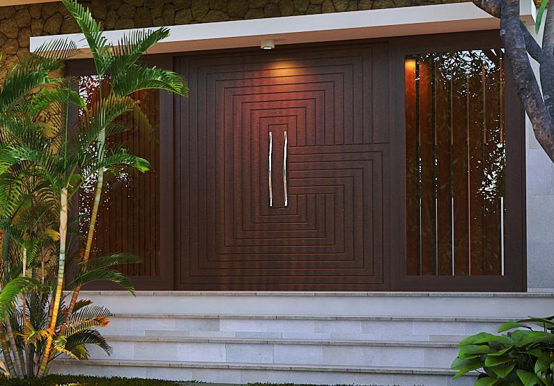 31 Desain Gambar Pintu Rumah Kayu Jati Minimalis Dan Terbaru Plafon Gypsum Larantuka