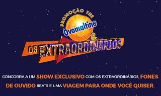 Promoção The Ovomaltine & os Extraordinários