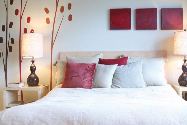 531346557ddb Κάνε Το Μόνος - DIY  Διακοσμήσετε τον Τοίχο Πάνω από το Κρεβάτι σας ...