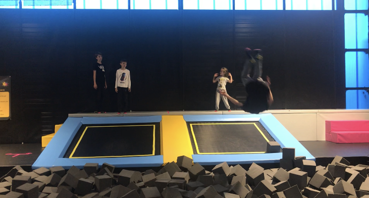 trampoline parc