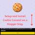 How To Display Cookie Consent Message On Blogger