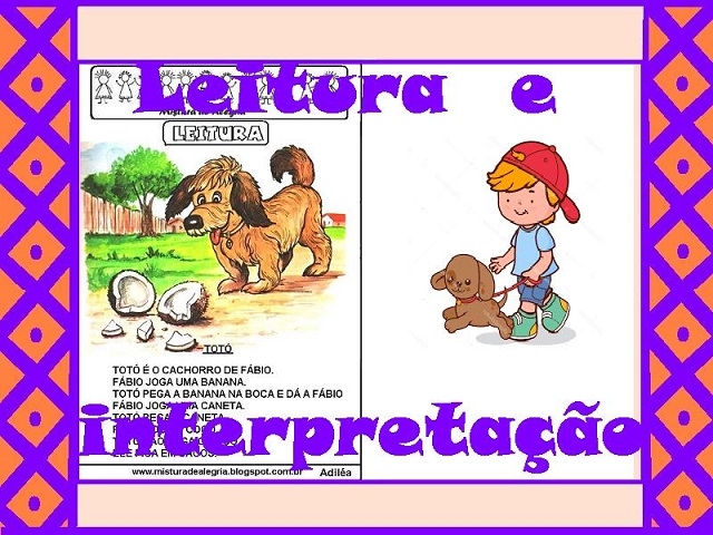 Leitura E Interpretacao Atividades De Alfabetizacao Para Imprimir