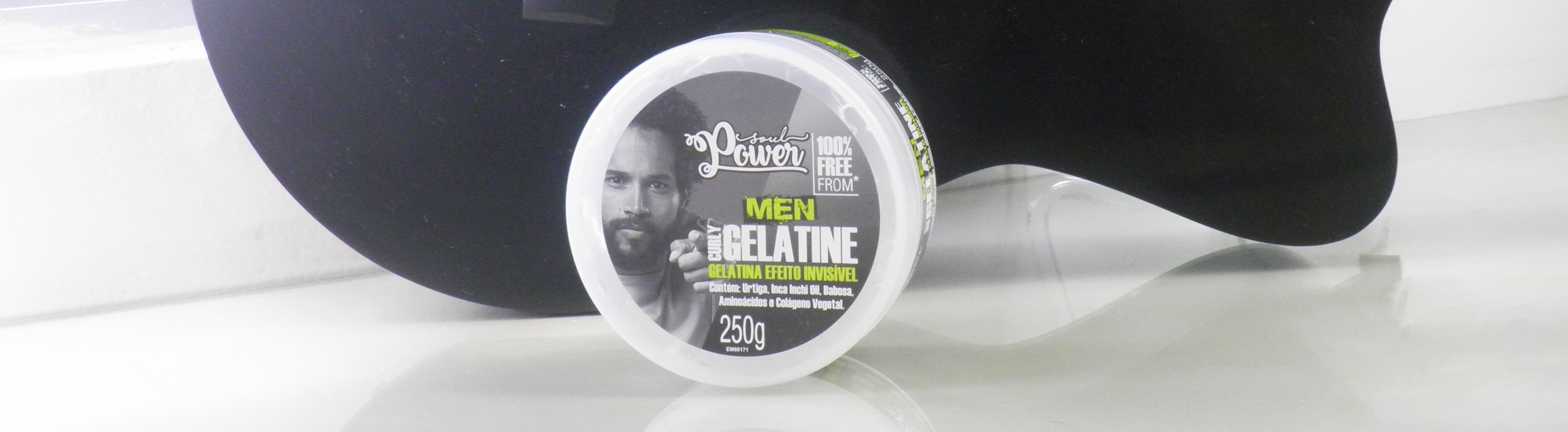 Resenha Soul Power Men Curly Gelatine