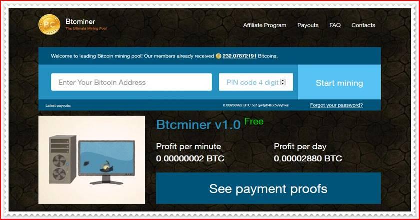 Мошеннический сайт btcminer.club – Отзывы, развод, платит или лохотрон? Мошенники