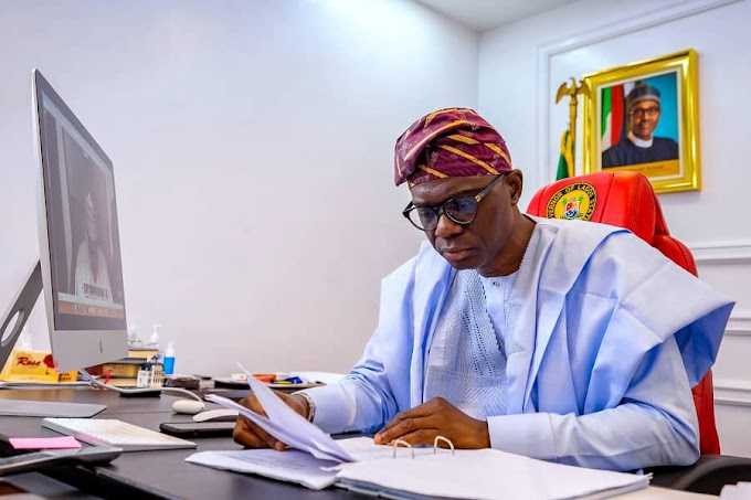 BREAKING NEWS: Governor Sanwo-Olu Changes Curfew Time In Lagos