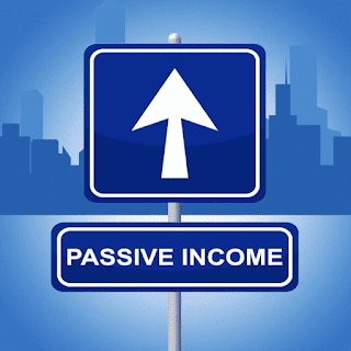 Passive Income Showing Signboard Placard And Display