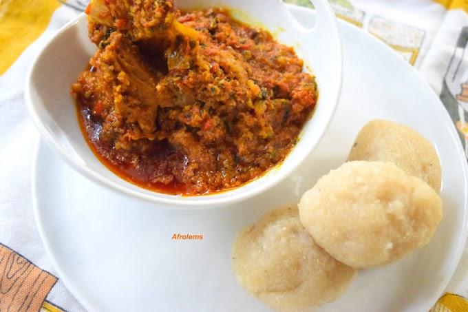 Ebira Food: How To Cook Gorigo Soup (Beniseed), Ebira Traditional Soup