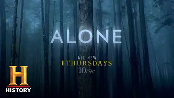 image of the logo for the TV show Alone