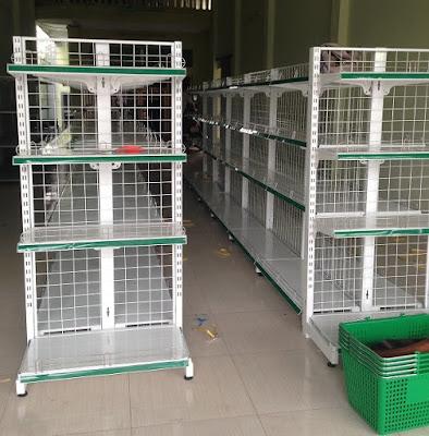 Cung cấp kệ bày hàng siêu thị tại Hưng Yên