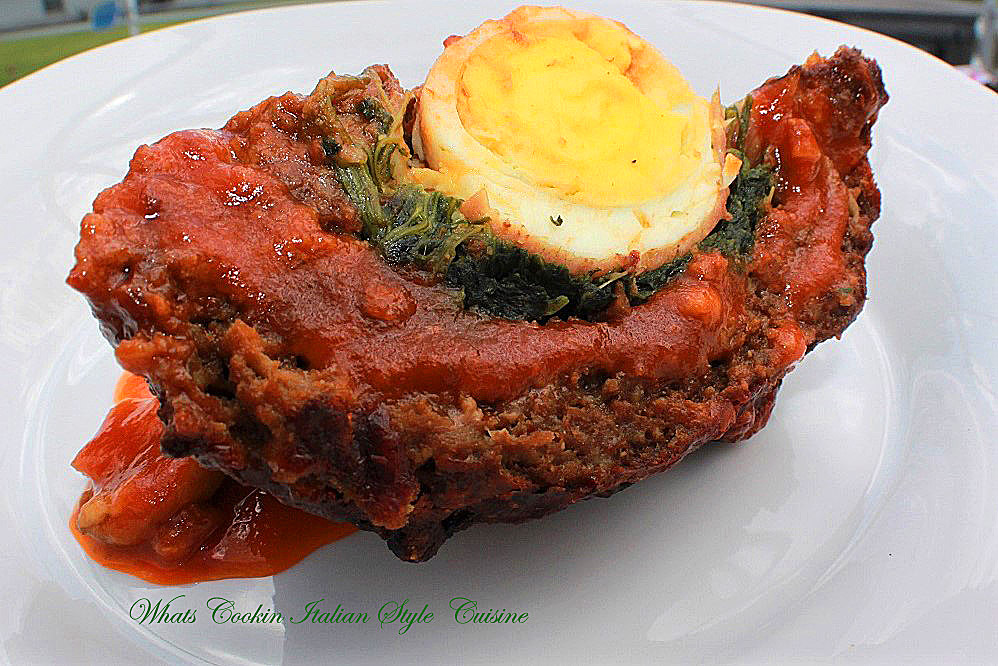 Italian Stuffed Meatloaf Recipe