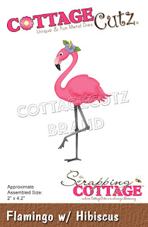 http://www.scrappingcottage.com/cottagecutzflamingowhibiscus.aspx