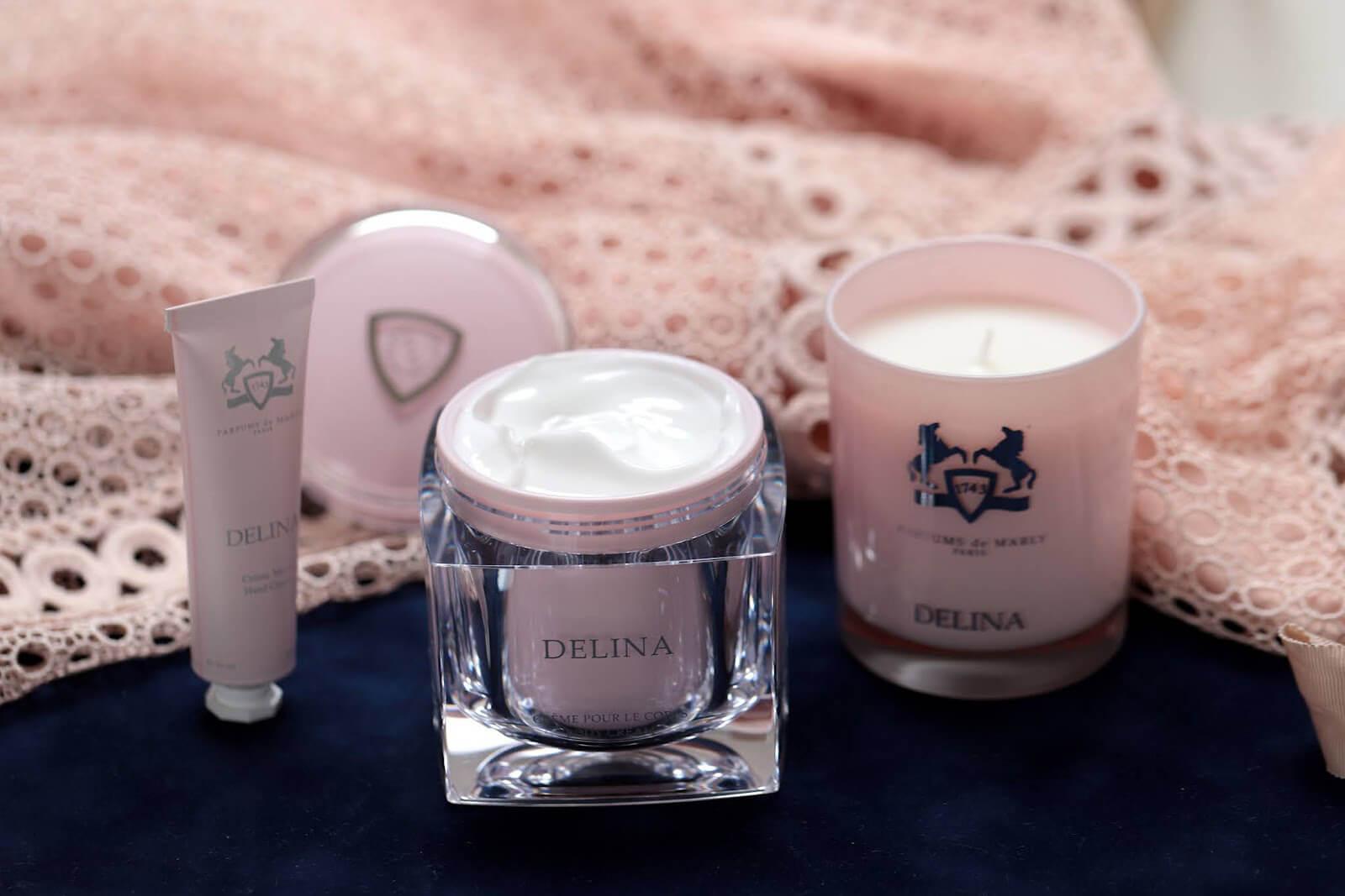 Delina Parfums de Marly Soins Corps Bougie avis