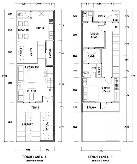Image Result For Sketsa Rumah Lantai Minimalis
