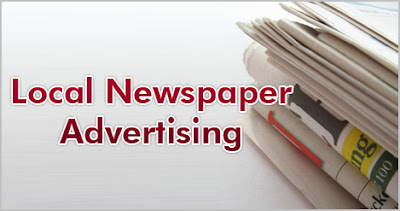 How much does newspaper advertising cost? 1