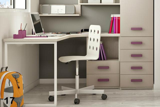 Modelos de escritorios juveniles decoraci n del hogar for Escritorio para recamara