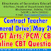 DSE Odisha: Download Contract TG Teacher Online CBT 2019 (May) Question Papers (Arts/PCM/CBZ)