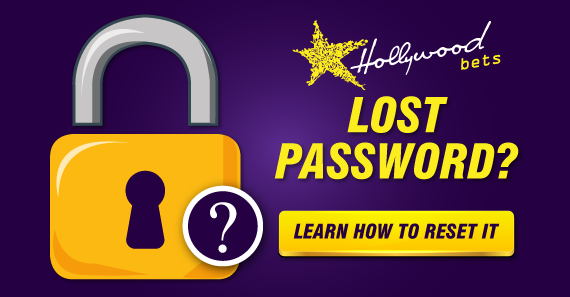 Lost your password? How to reset your password with Hollywoodbets