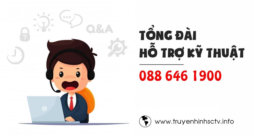 Tổng đài SCTV Ninh Bình - Đơn vị lắp đặt truyền hình cáp SCTV ở Ninh Bình