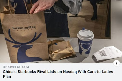 https://www.bloomberg.com/news/articles/2019-05-19/china-s-starbucks-rival-lists-on-nasdaq-with-cars-to-lattes-plan?