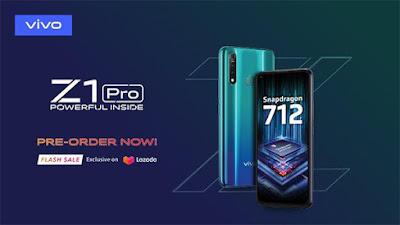 Vivo Z1 Pro di Indonesia