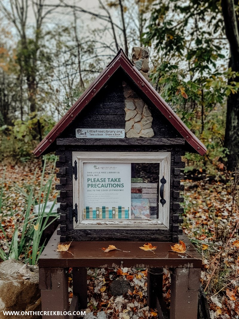 Details on building a Little Free Library | On The Creek Blog // www.onthecreekblog.com